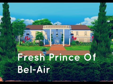 The Sims 4 House Building The Fresh Prince Of Bel Air Mansion