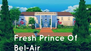 The Sims 4 House Building - The Fresh Prince Of Bel-Air Mansion