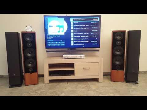 Canton Ergo 90 DC  sound test 1