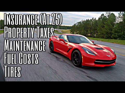 The TRUE Cost Of Ownership | Corvette Stingray (Insurance, Taxes, Maintenance, Etc.)