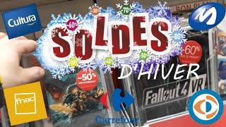SOLDES D'Hiver Jeux Vidéo avec une Console à petit prix !