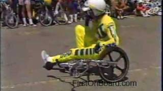 Rick Allison 1984 Old School BMX Video Huntington Beach, CA