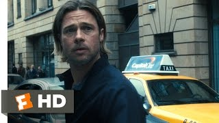 World War Z (1/10) Movie CLIP - Zombie Outbreak (2013) HD