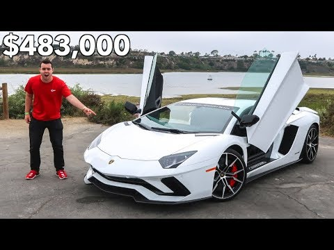 The $483,000 Lamborghini Aventador S Is Actually AWESOME
