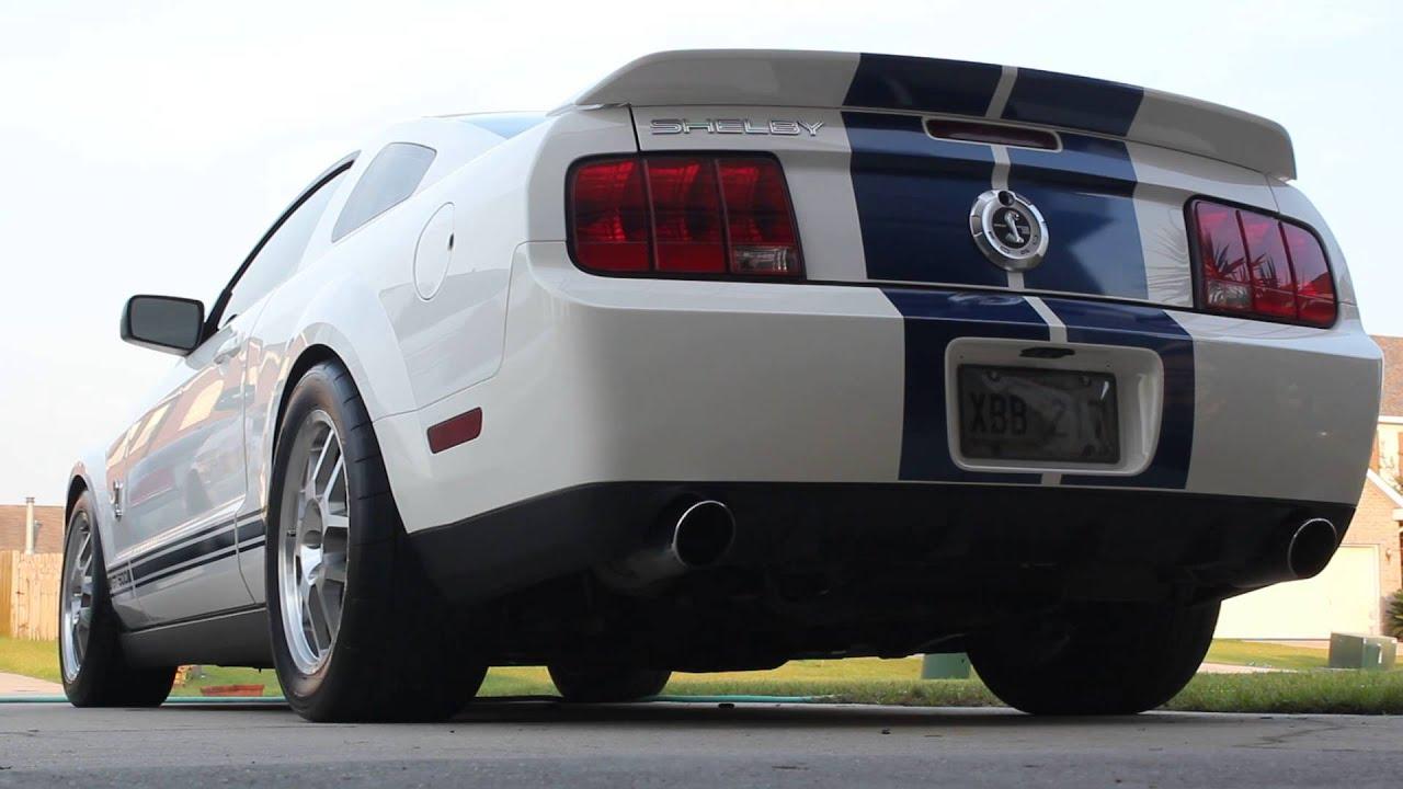 2008 Shelby GT500 BBK Long Tube Headers - YouTube