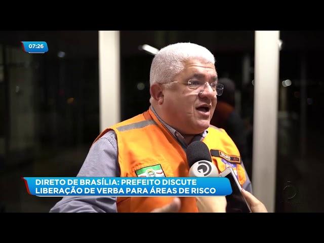 Reunião em Brasília discutiu a liberação de verbas para áreas de risco em Maceió