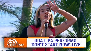 Baixar Dua Lipa performs 'Don't Start Now' live on Hamilton Island, Australia | Sunrise