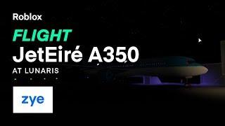 Roblox - France JetÉire Premier vol A350 - Lunaris