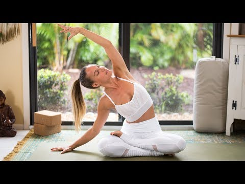 Bedtime Yoga Video: Gentle Slow Practice to Relax and Rest