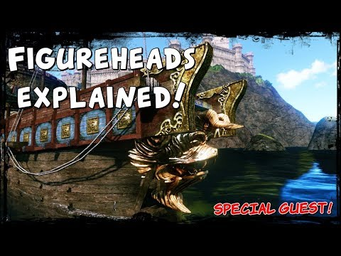 ArcheAge - ship component guide - figureheads