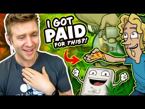 REACTING to my OLD FREELANCE WORK!! - I Can't believe I Did This...