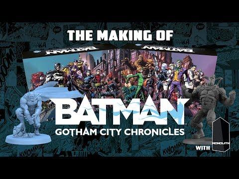 Reportage - Batman : Gotham City Chronicles, le making of avec Monolith