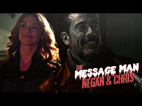 Negan & Christian | The Message Man (au)