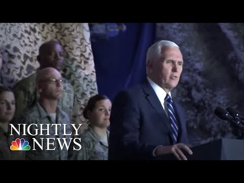 Download Youtube: VP Pence talks shutdown during Middle East trip | NBC Nightly News