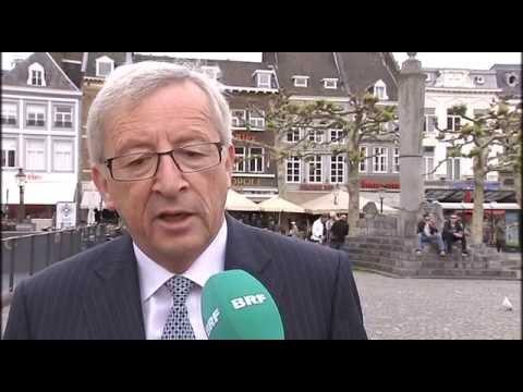EU-Wahlkampf: CSP-Kandidat Pascal Arimont trifft Jean-Claude Juncker in c