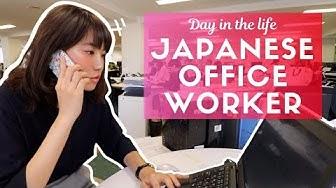 Một ngày bình thường của một nhân viên văn phòng ở Tokyo