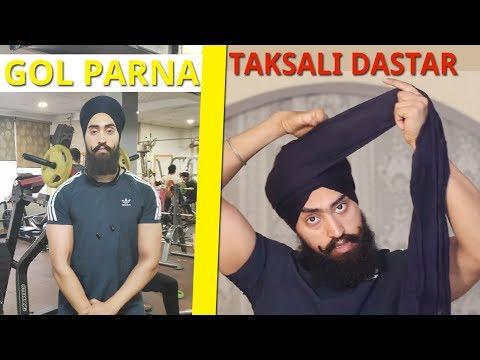 How to tie Dumala sahib Bilaspur kapal MOCHAN sahib by Baljinder Singh international Turban Bhangra from YouTube · Duration:  7 minutes 29 seconds