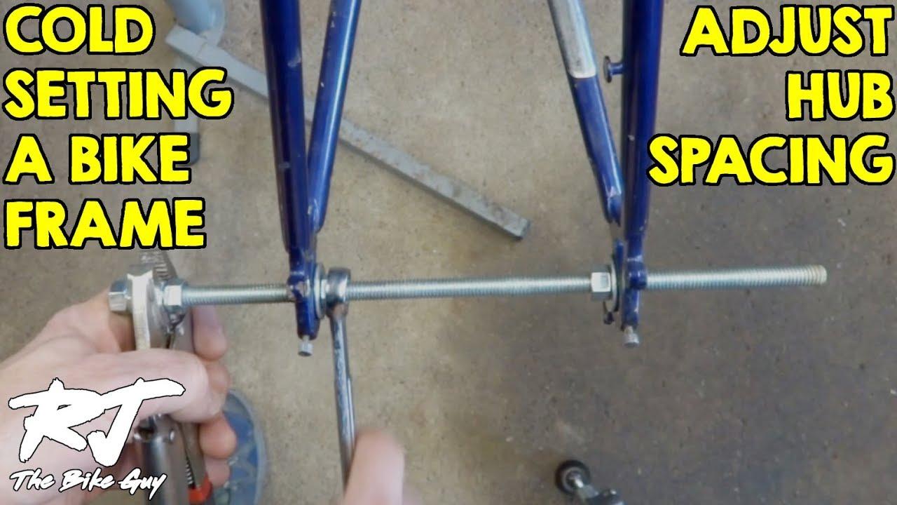 Cold Setting A Bike Frame 126mm To 130mm Hub Spacing Doovi