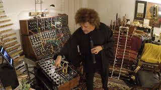 Pedro Eustache plays legendary Moog IIIc with the Sylphyo