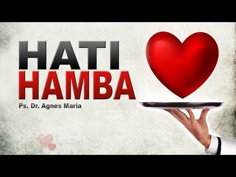 "Sunday Service Sermon: ""Hati Hamba"" by Ps. Dr. Agnes Maria. HFC Lenmarc 30/7/'17."