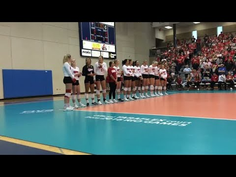 Watch: The Nebraska volleyball team has night out in McCook for spring game