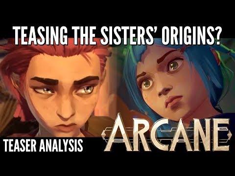 Teasing The Origins || ARCANE Teaser Analysis/breakdown