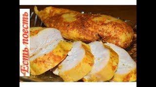 Быстрый способ приготовления куриного филе в молоке. Как ветчина.