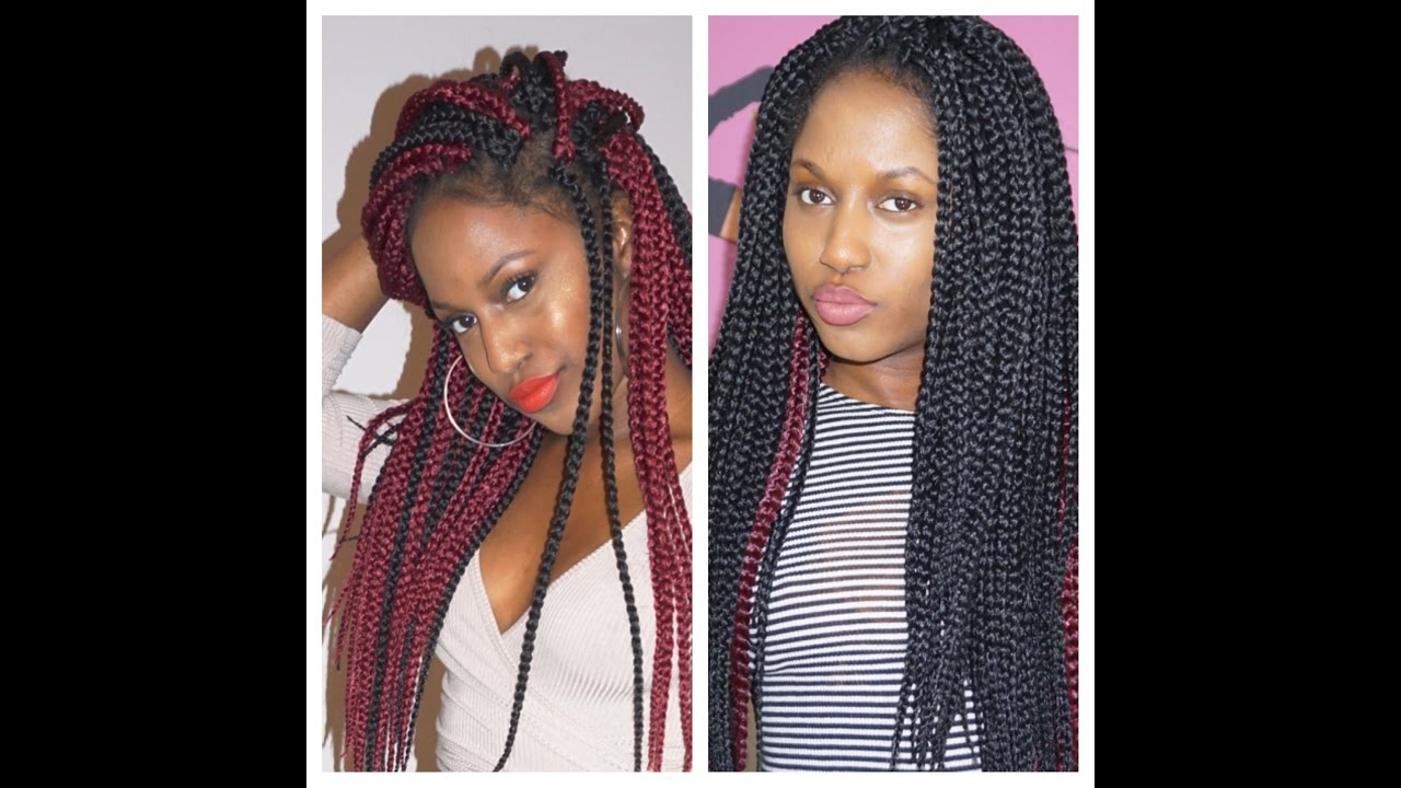 Poetic Justice Inspired Crochet Box Braids Youtube