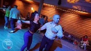 Dj Sezar & Olesya - Salsa social dancing | Mambo.love 2018