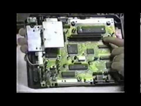 Sega Genesis Video Game System Repair VHS Tape Training Video produced by Irata Systems 1993