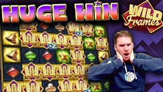 HUGE WIN on Wild Frames Slot - £7 Bet