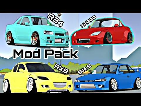 FR LEGENDS • CAR MOD PACK • S14 5 • HONDA S2000 • NISSAN R34 GTR • MAZDA RX8