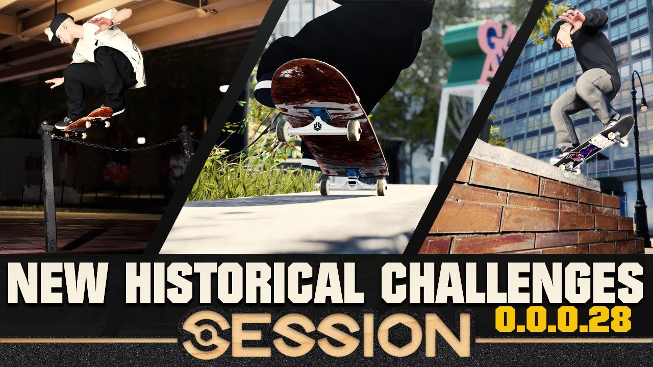 New List Of HISTORICAL CHALLENGES for Session V0.0.0.28