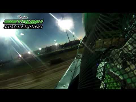 Tyler Sistrunk Motorsports - North Florida Speedway - Heat Race Win - In Car Cam - 10-14-2017
