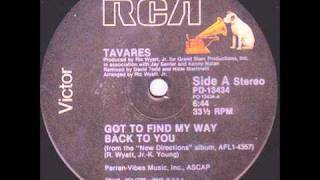 Tavares - Got To Find My Way Back To You (12