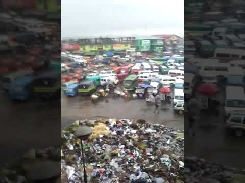 Open trader under climate conditions- Kaneshie Market