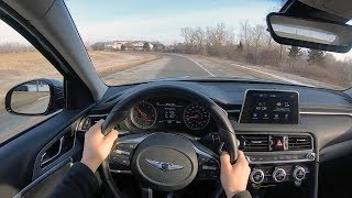 2019 Genesis G70 2.0T Sport (6-Speed Manual) - POV Test Drive