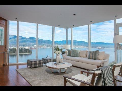 3002 1281 W Cordova St - Callisto in Coal Harbour - Vancouver Luxury Waterfront Home