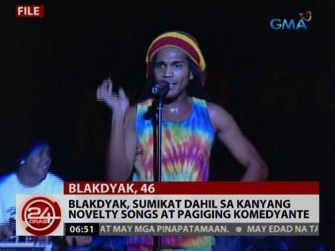24 Oras: Blakdyak, sumikat dahil sa kanyang novelty songs at pagiging komedyante