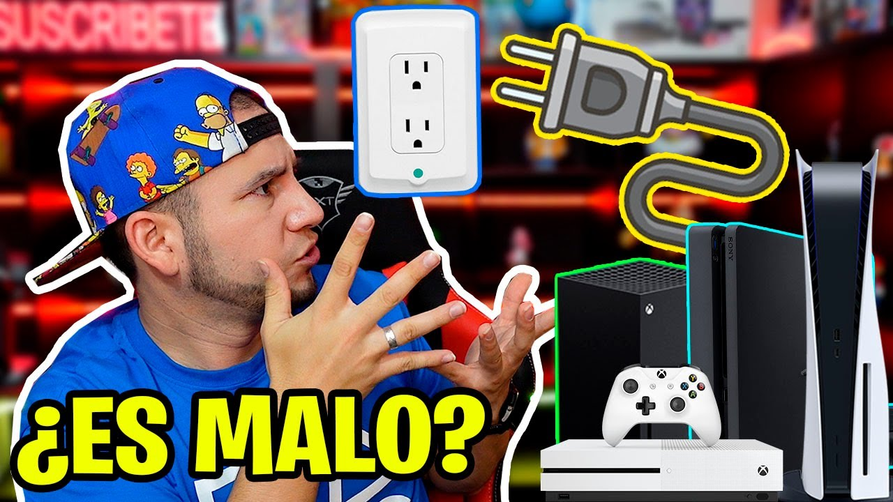 ¿ES MALO DEJAR CONECTADA LA PS4, PS5, XBOX ONE, SERIES X a la CORRIENTE CUANDO NO JUEGO?