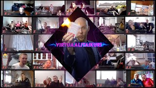 Virtuaalinen Taikashow 2021 / Taikuri Joni Pakanen