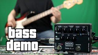 MXR Bass DI+ Demo