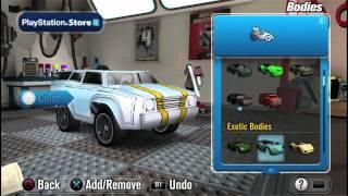 Modnation Racers : Road Trip - PS Vita - Test Video Gamekult