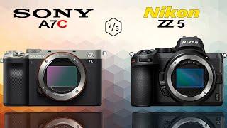 SONY A7C vs Nikon Z5