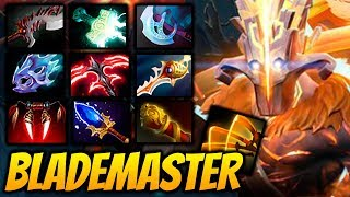 JUGGER BLADEMASTER [39 FRAGS 1000+ LH] 2 Hours Game Dota 2