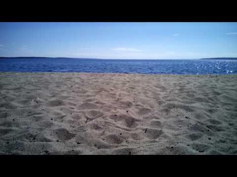 Пляж в Медвежьегорске