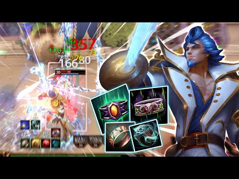 Smite: AO KUANG SHREDS WITH MAX ATTACK SPEED!