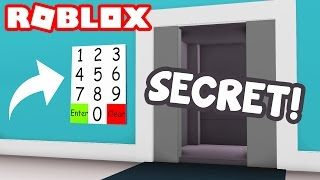SECRET ELEVATOR IN ROBLOX???