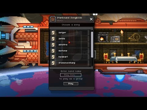 Starbound - How to import music
