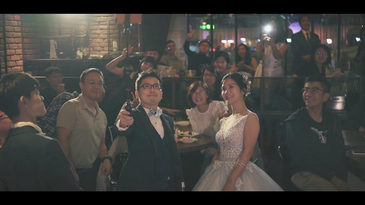 與其說是婚禮不如說是同樂會AKA談話性節目/台北婚錄推薦/角落音樂餐廳/彥銘+衍華